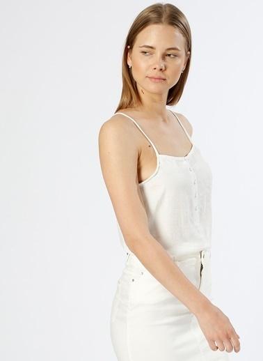 Vero Moda Bluz Beyaz